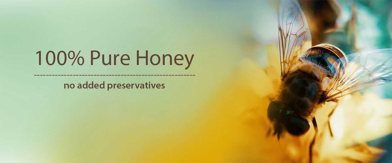 100% best pure honey